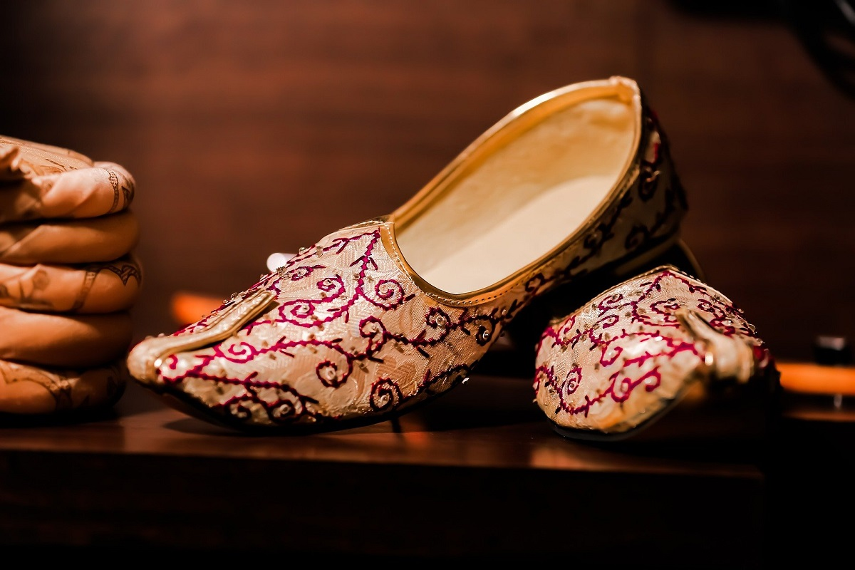 The Royal Shoes Of The Jaipur Attire