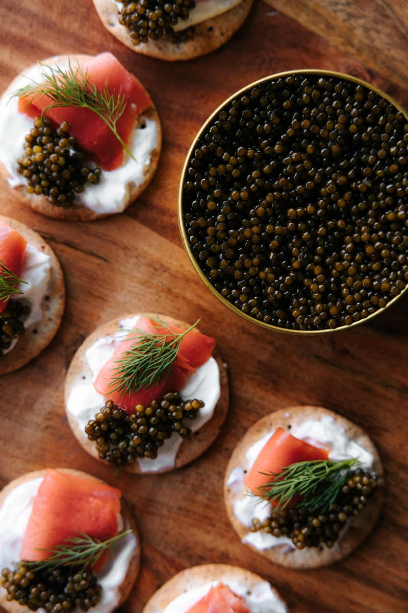 Caviar Lunch In Moscow