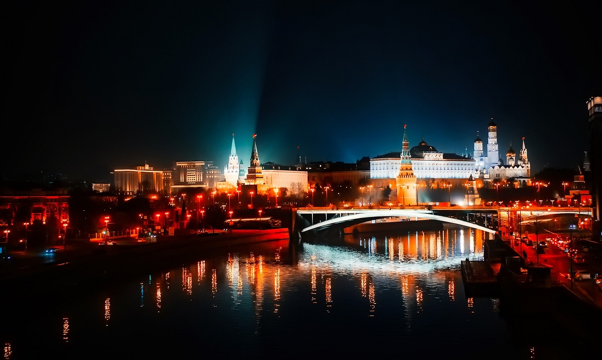 River cruise in Moscow
