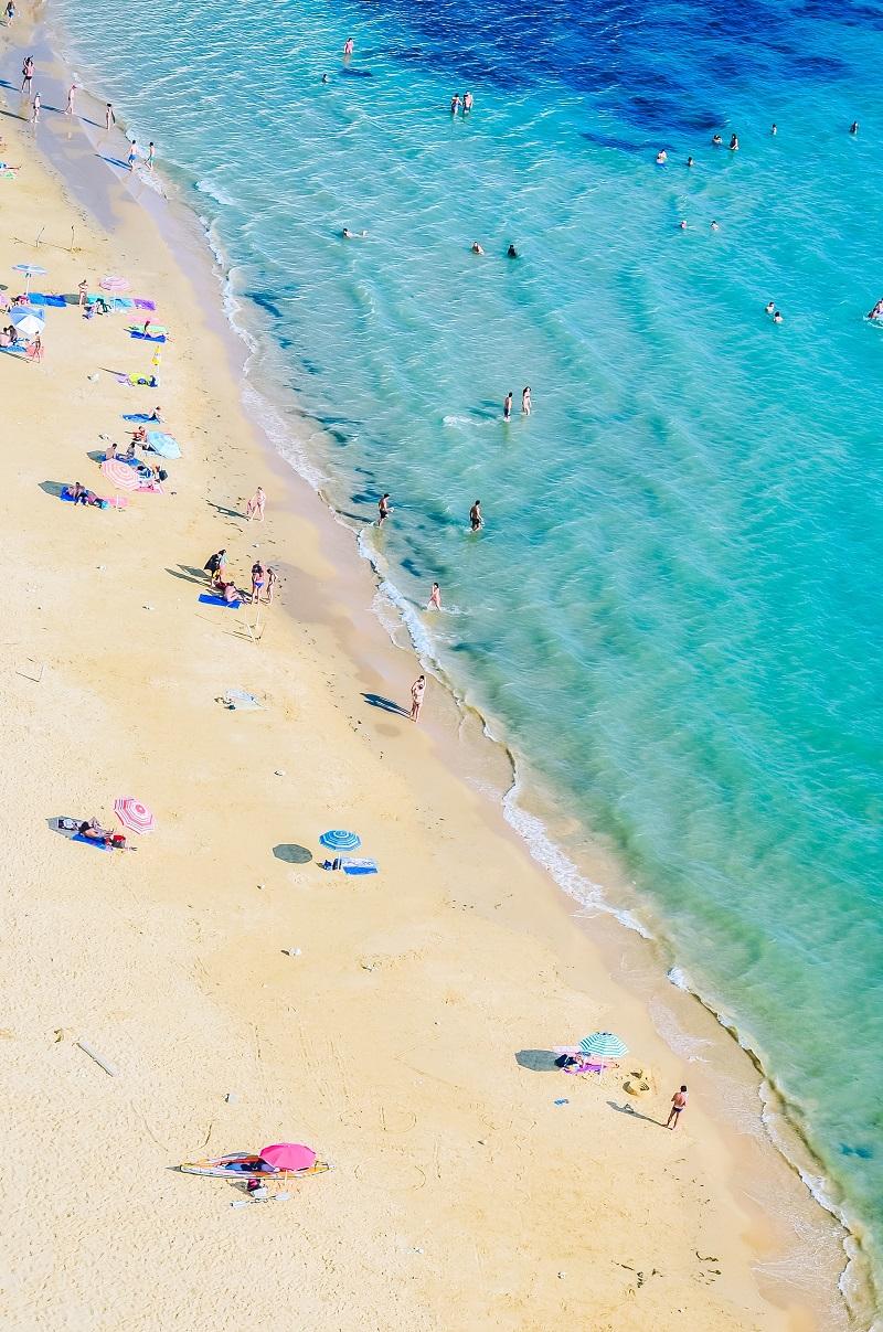 Relax at Copacabana Beach, Rio