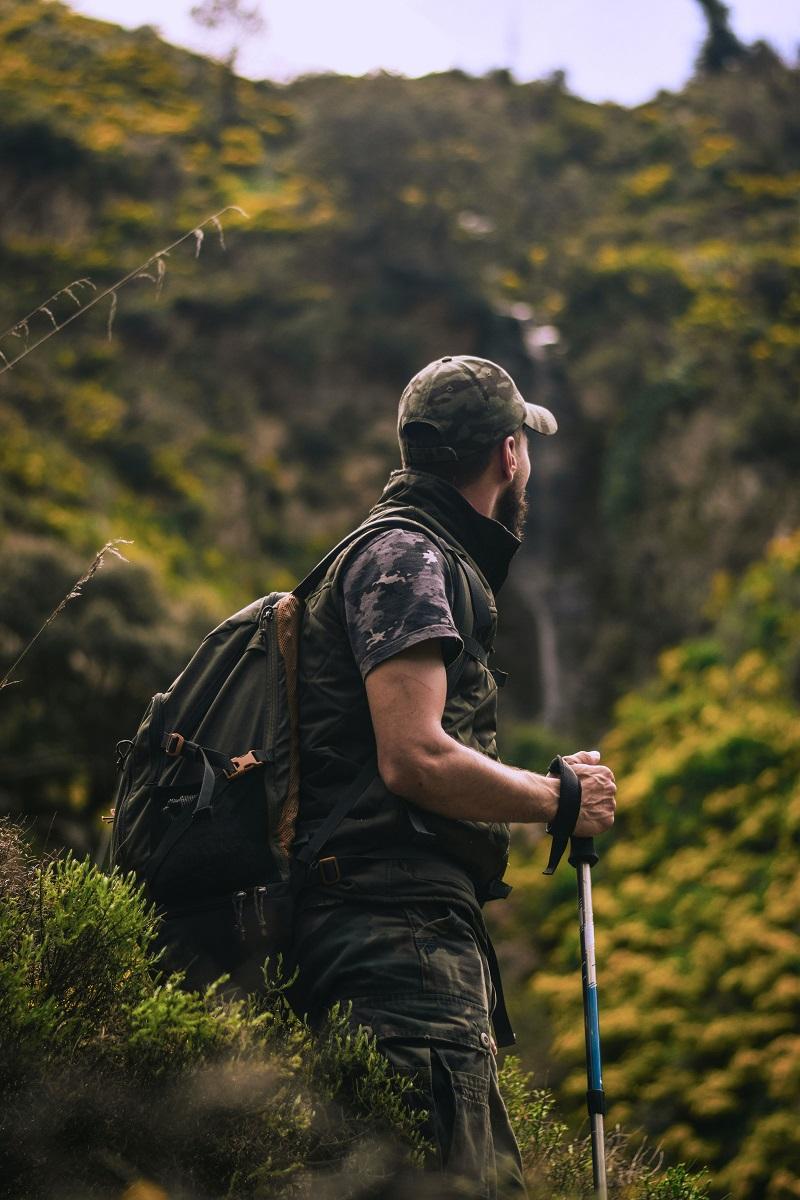 Hiking to Christ Redeemer, Rio
