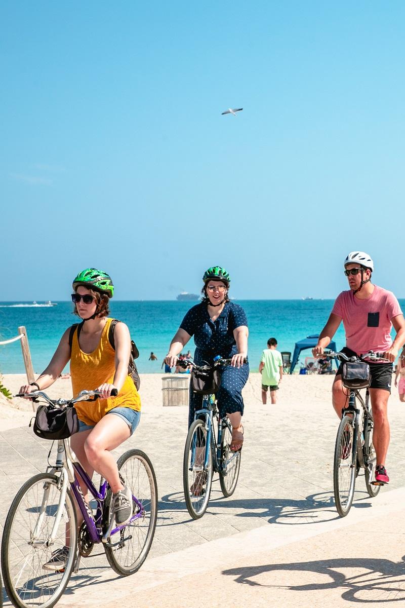 Biking around Rio