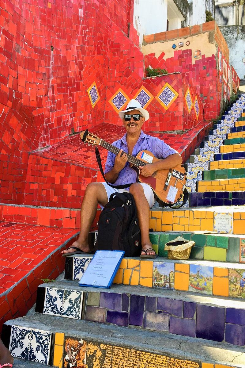 Escadaria Selarón, Santa Teresa, Rio